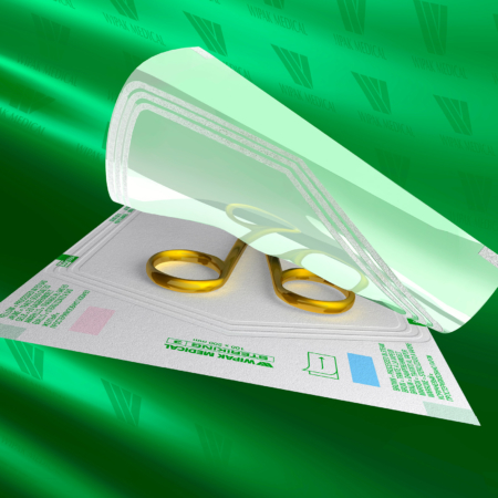 Klarsichtverpackungen aus Papier und Folie Dampfsterilisation