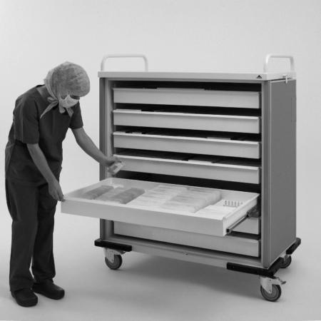Becker M9 und M11 - Modulare Klinik-Schranksysteme